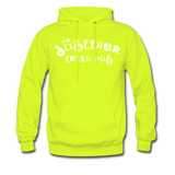 Men's Hoodie/ Color Options - safety green