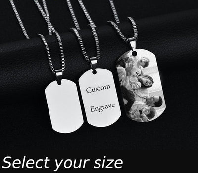 Stainless Steel Personalised Necklace