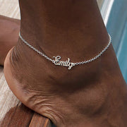 Personalised Name Anklet