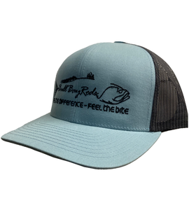 Bull Bay Rods Teal Trucker Hat
