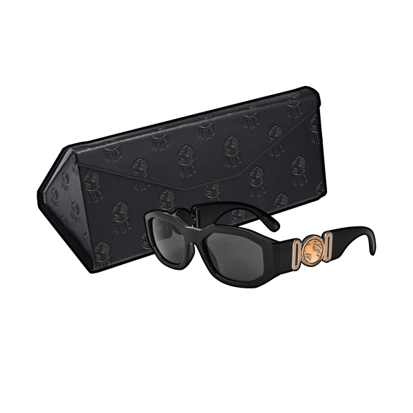 """WWY"" SUNGLASSES (BLACK)"