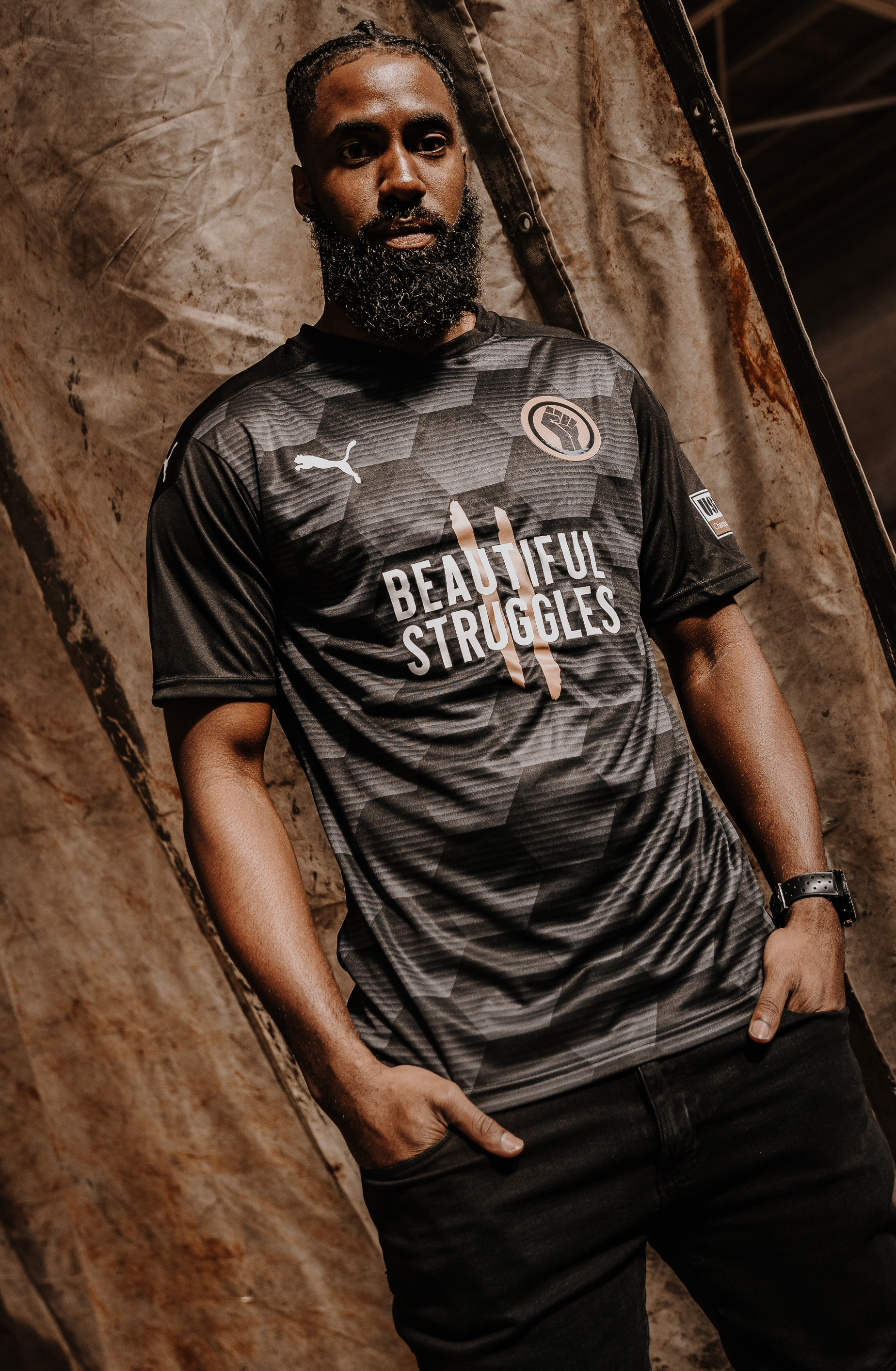 UNITED AGAINST RACISM x USL CHAMPIONSHIP JERSEY