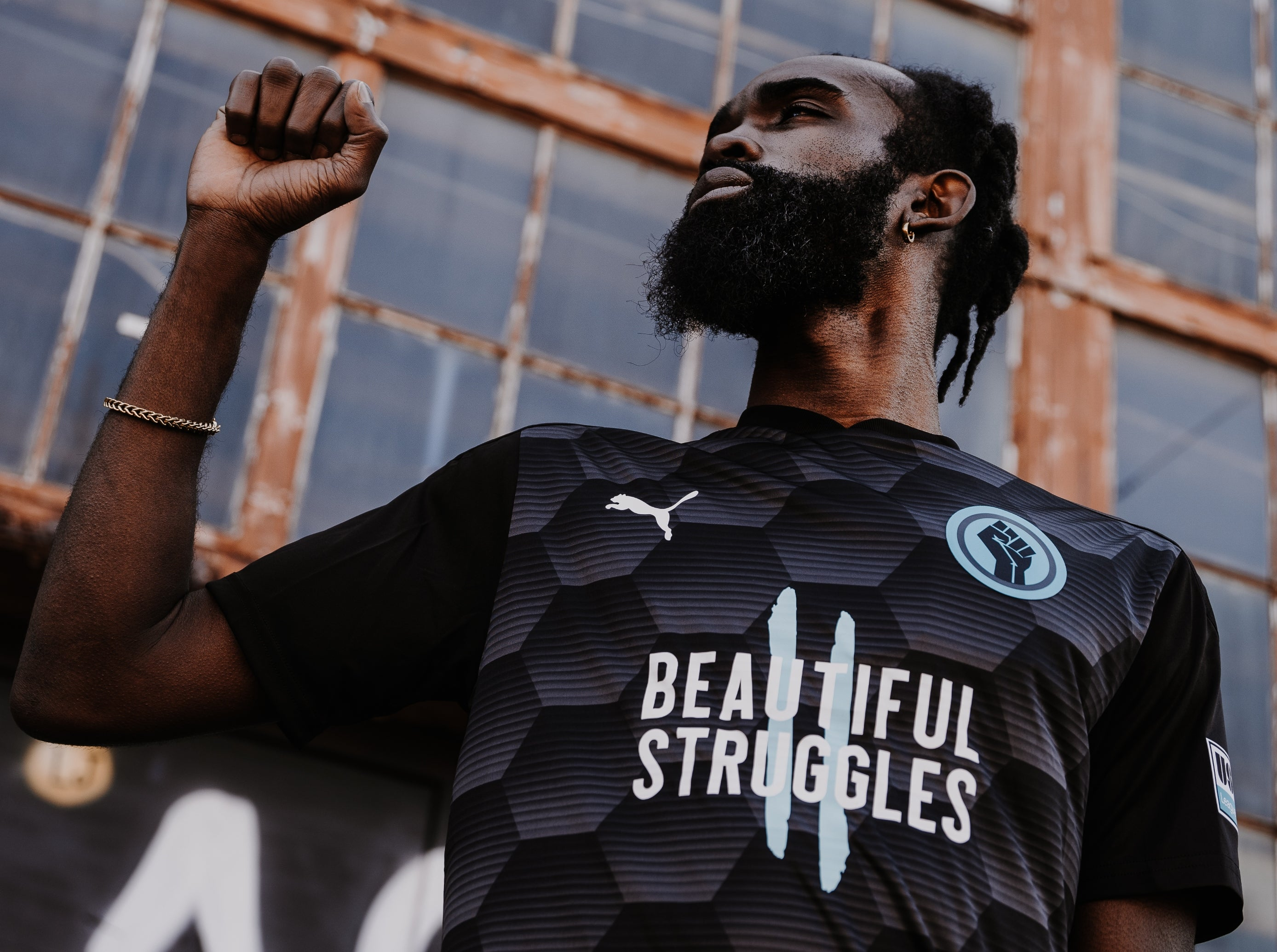 UNITED AGAINST RACISM x USL LEAGUE ONE JERSEY