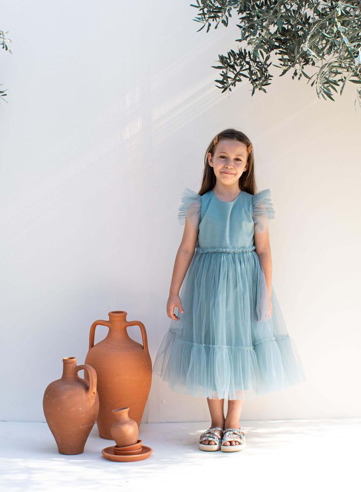 SeaFoam Green Tulle Dress - Dreamland