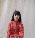 Brick Red Blouse - Anabelle