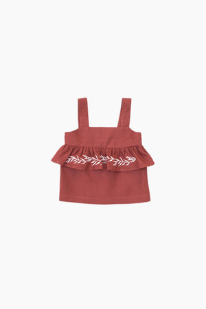 Load image into Gallery viewer, Terracotta Blouse - Sophia