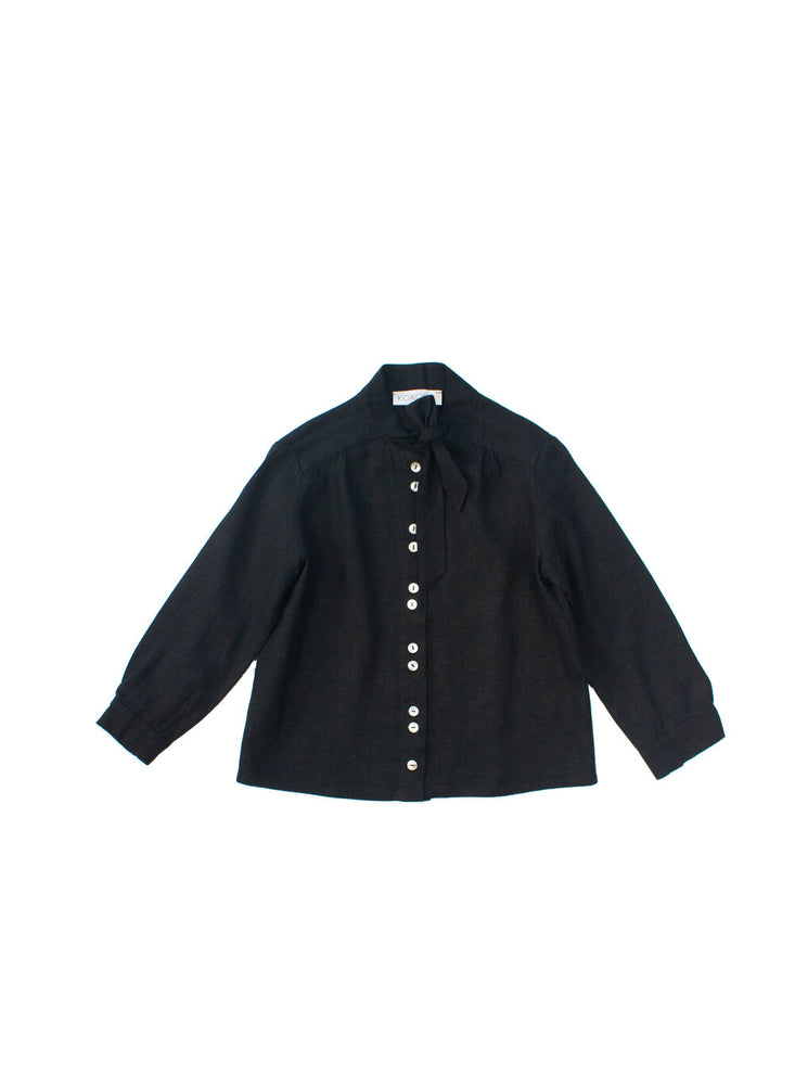 Annabelle Blouse Black