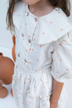 Copper Spots Blouse - Amelia