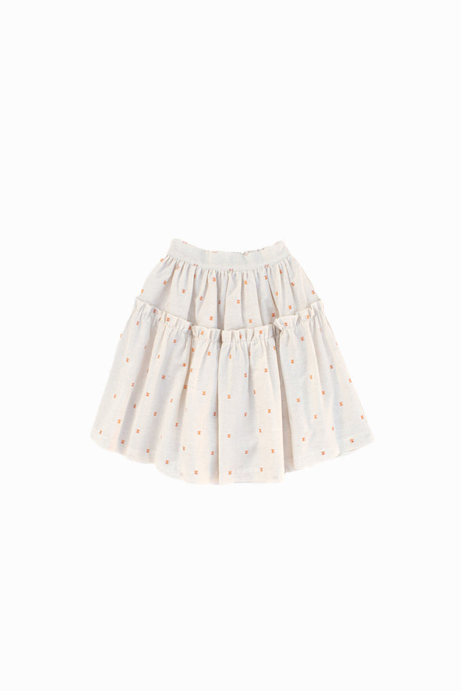 Skirt With Copper Spots - Amelia