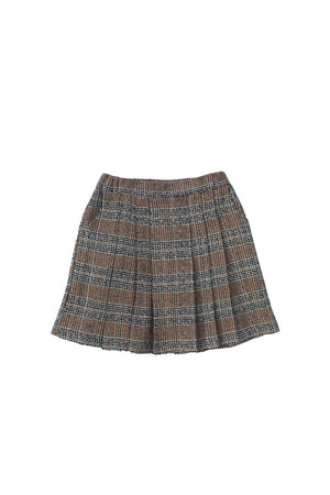 Load image into Gallery viewer, HANNAH SKIRT BROWN