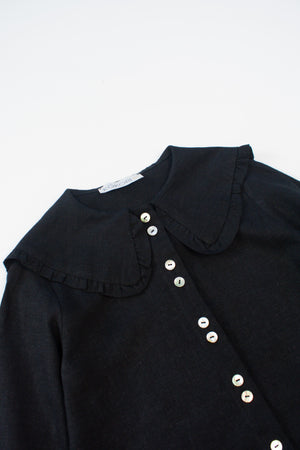 Black Blouse - Heidi