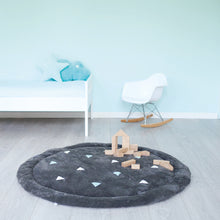 Afbeelding in Gallery-weergave laden, Tapis deco rond Softy anti-dérapant