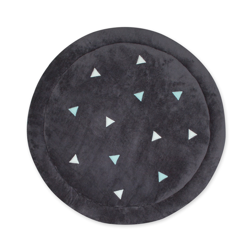 Tapis deco rond Softy anti-dérapant