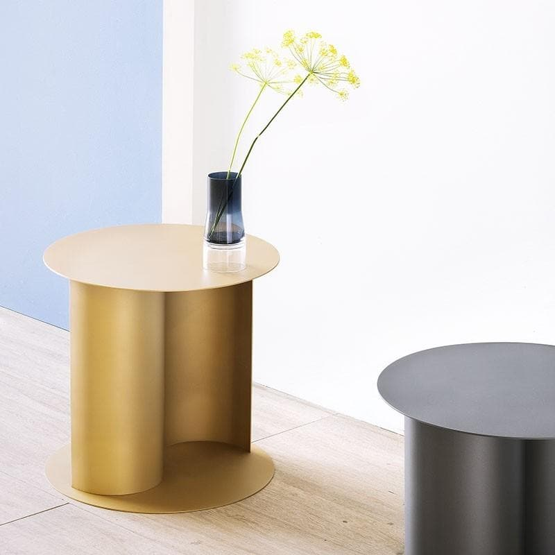 Coffee Table Yin&Yang - Peltro Nero