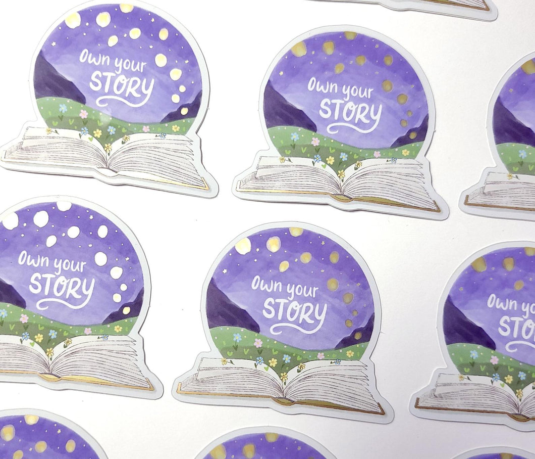 Own Your Story - Sticker