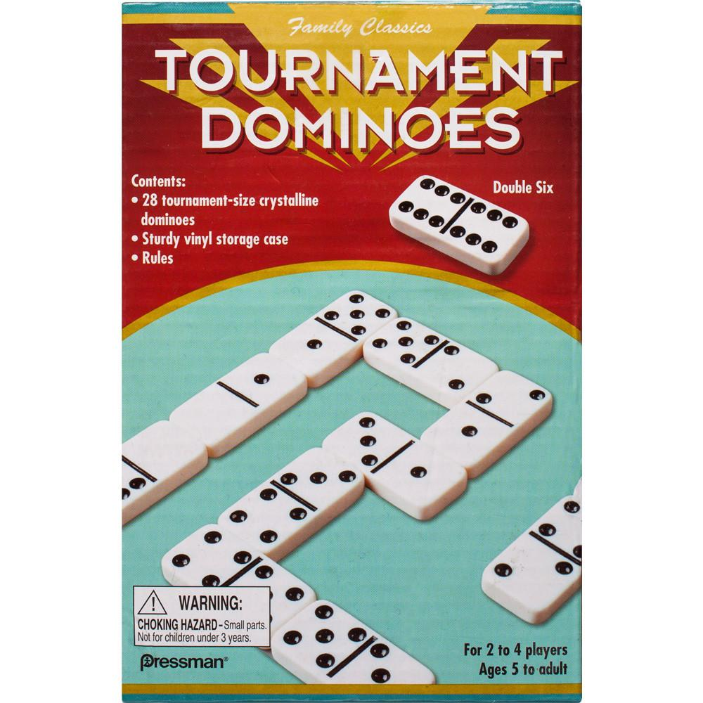 Tournament Double 6 Dominos Game Set
