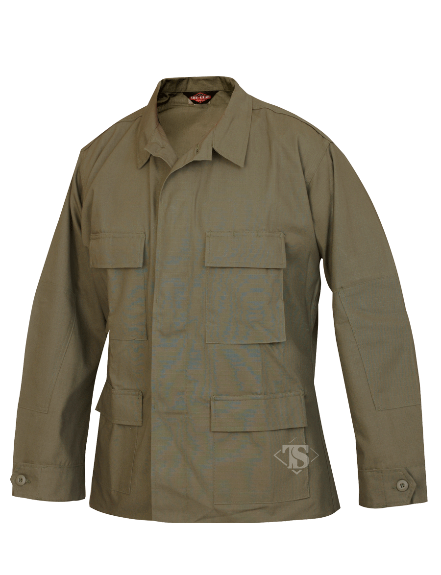 TruSpec Classic BDU Shirt - 100% Cotton Rip-Stop