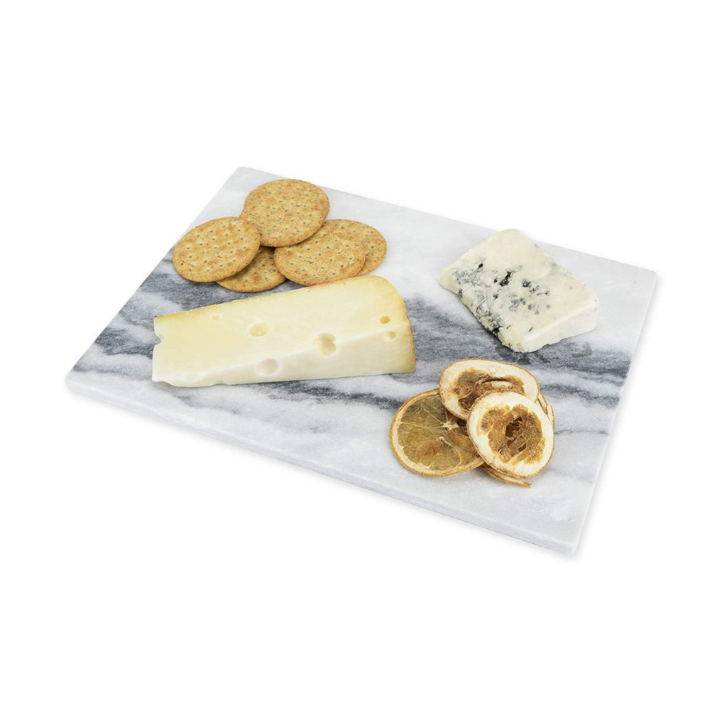 Rectangular Marble Cheeseboard in Gray