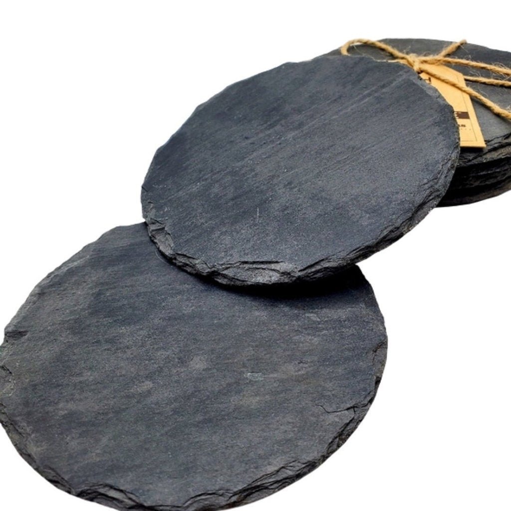 Slate Drink Coaster Set (set of 4)