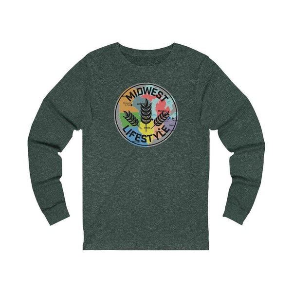MAP LONG SLEEVE - The Midwest Lifestyle