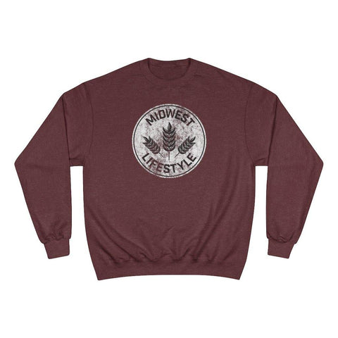 CHAMPION X MIDWEST LIFESTYLE VINTAGE CREWNECK - The Midwest Lifestyle