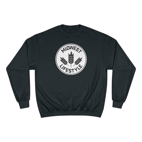CHAMPION X MIDWEST LIFESTYLE CLASSIC CREWNECK - The Midwest Lifestyle