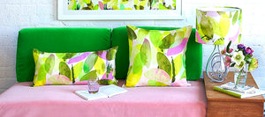 Anna Jacobs Falling leaves in Spring cushions - sale