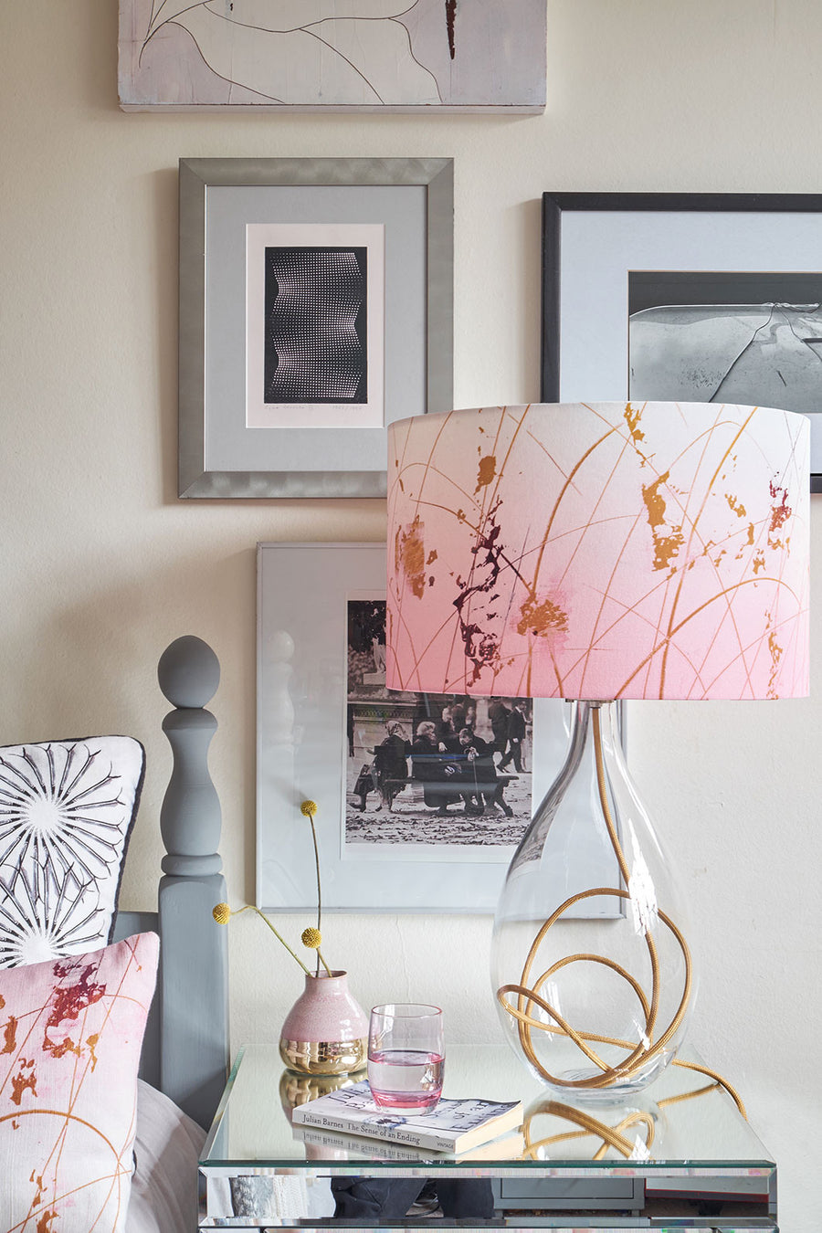 Afternoon Dreaming<br />cotton lampshade