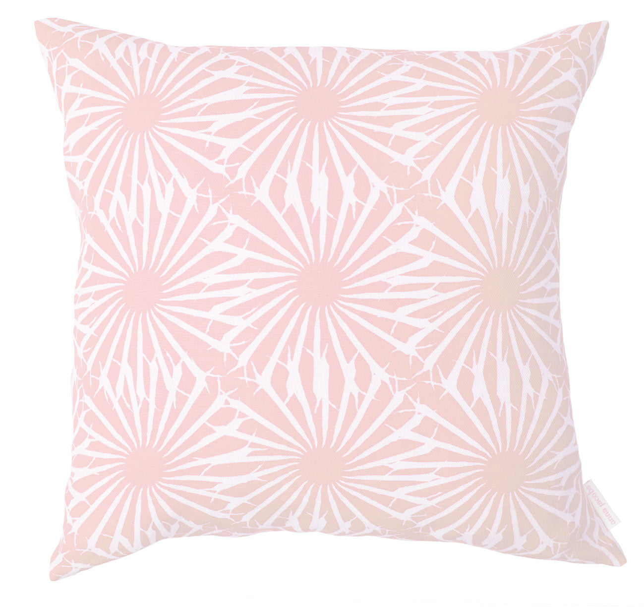 Beak Street in Rose<br />linen cushion
