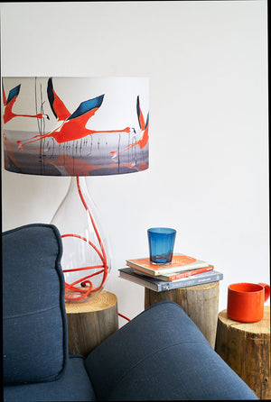 Breaking Dawn in orange lamp<br>LARGE, 2 flex colours