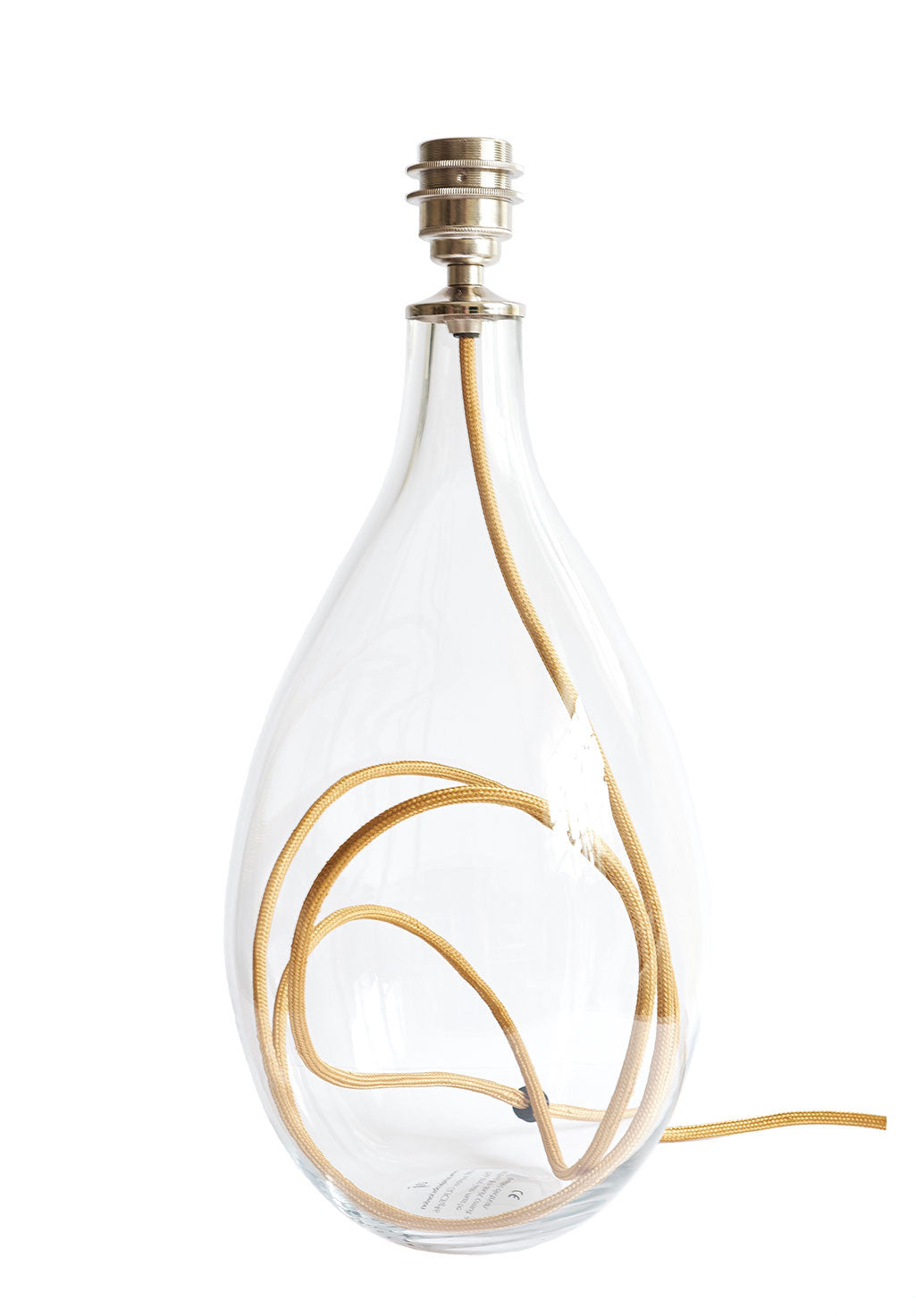 Burnished Gold flex lamp base<br />2 sizes