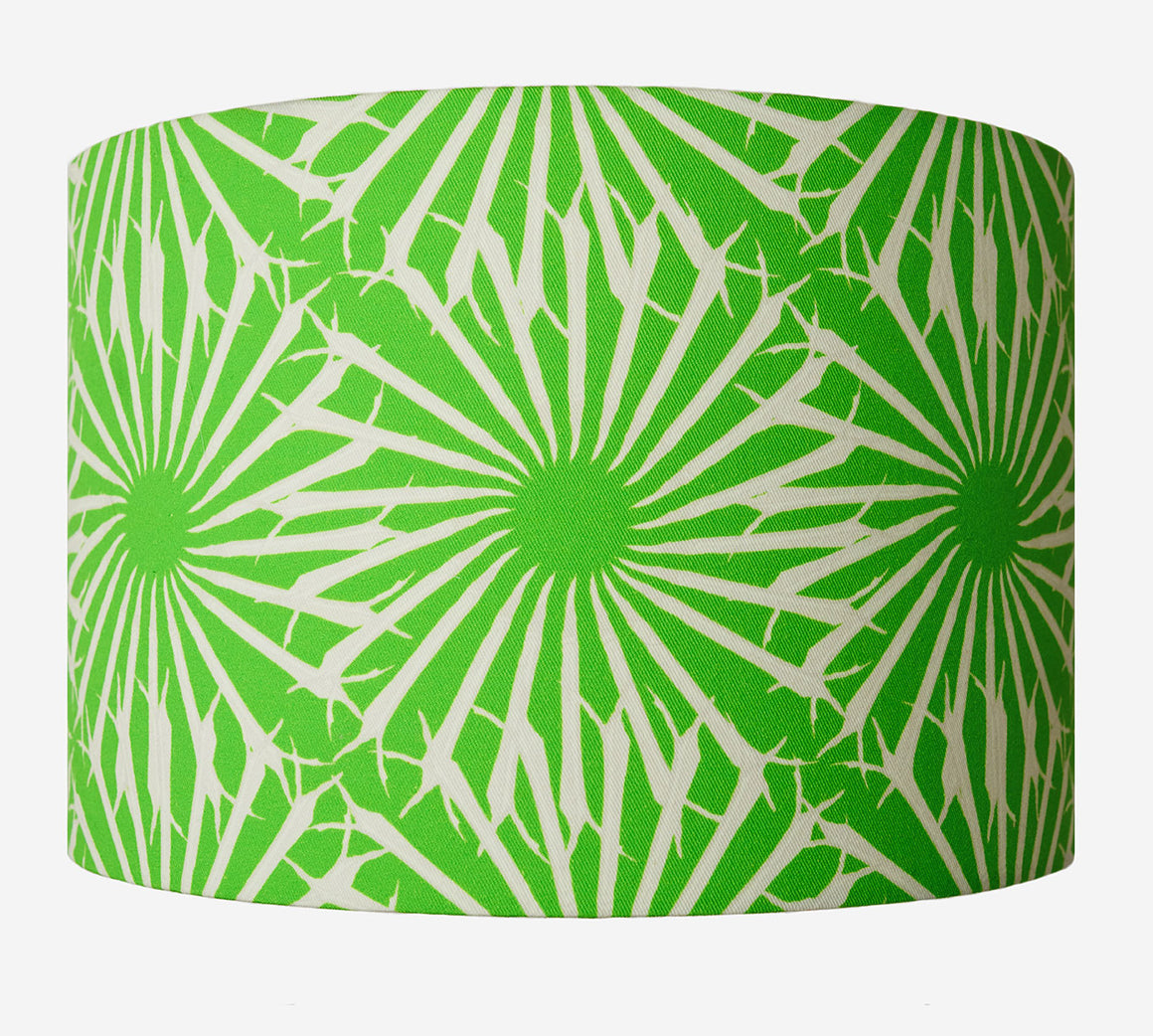 green lampshade - Beak Street in Grass by Anna Jacobs
