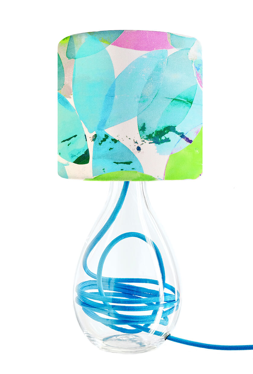 Falling Leaves in Summer lamp<br>SMALL, 2 flex colour options