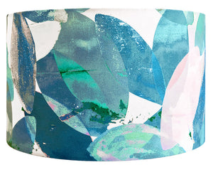 Falling Leaves in Winter large lampshade by Anna Jacobs