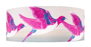 Starling lampshade - Violet Backed Starling lampshade by Anna Jacobs - extra large