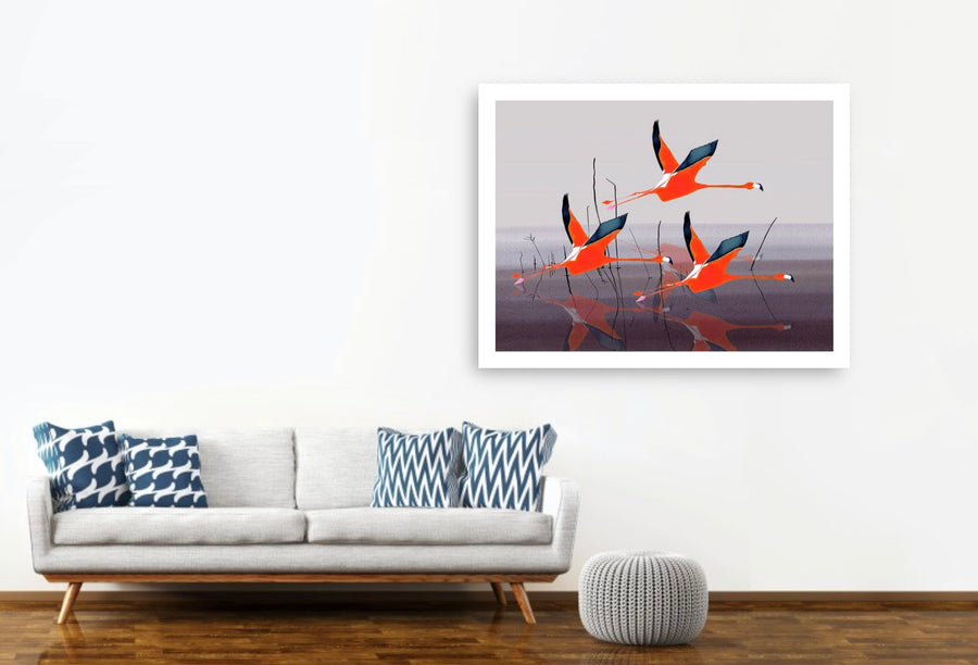Let's Go Flying with the Family<br/>print