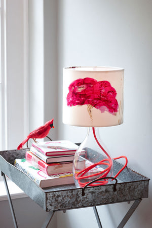 Autumn Sedum - small<br />cotton lampshade