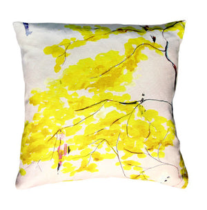 Chinese Tree<br />linen cushion