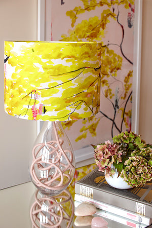 Chinese Tree<br />cotton lampshade