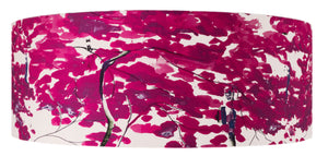 Chinese Tree in Pink and Violet lampshade by Anna Jacobs - extra large