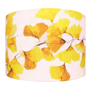 Ginkgo in Sunshine lampshade