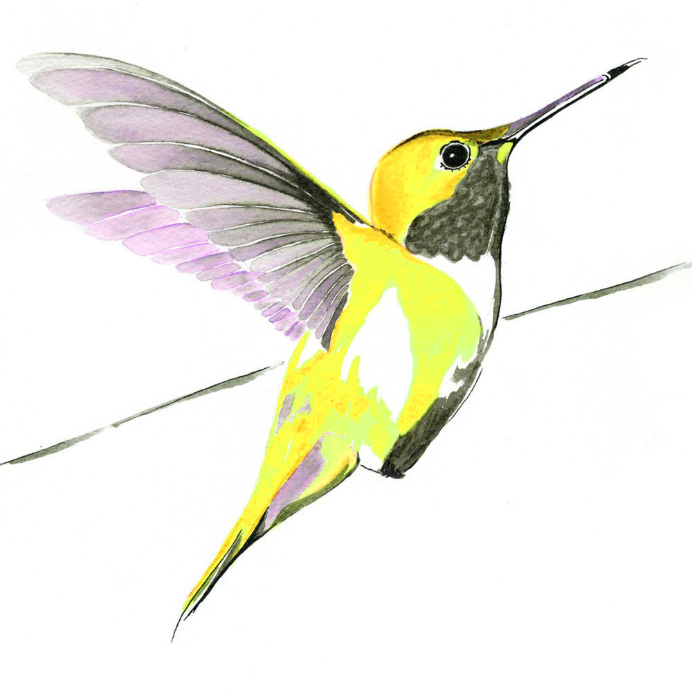 Hummer in Yellow<br/>greeting card
