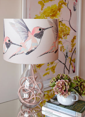 Rose Hummer lamp<br />SMALL, 4 flex colour options