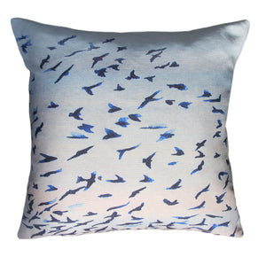 Murmuration<br />linen cushion
