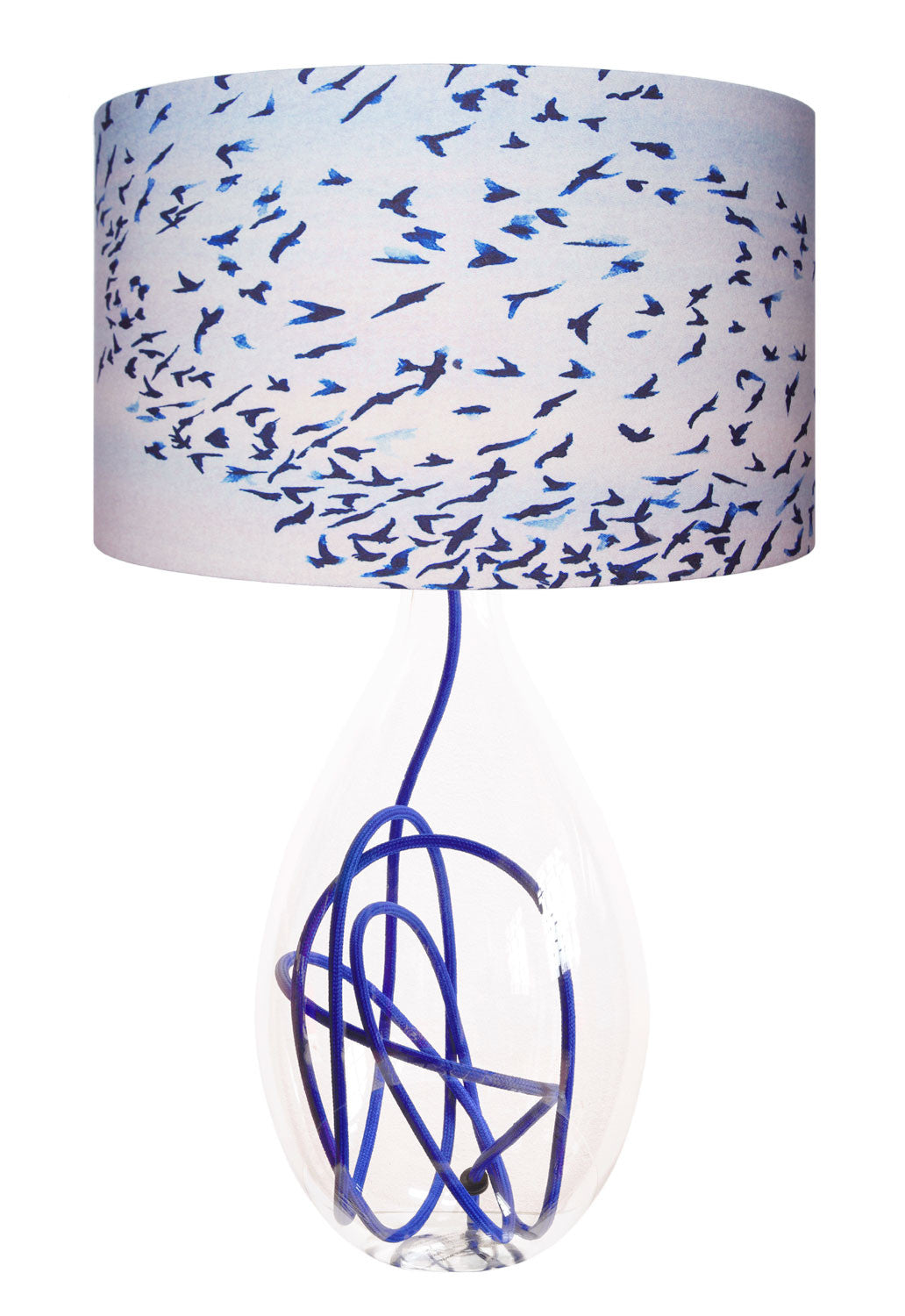 Royal Blue flex lamp base<br />2 sizes