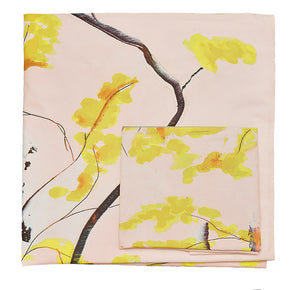 Anna Jacobs Chinese Tree bed linen folded