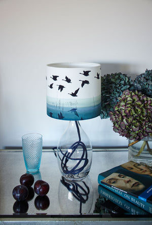 Welsh Reflection<br />cotton lampshade