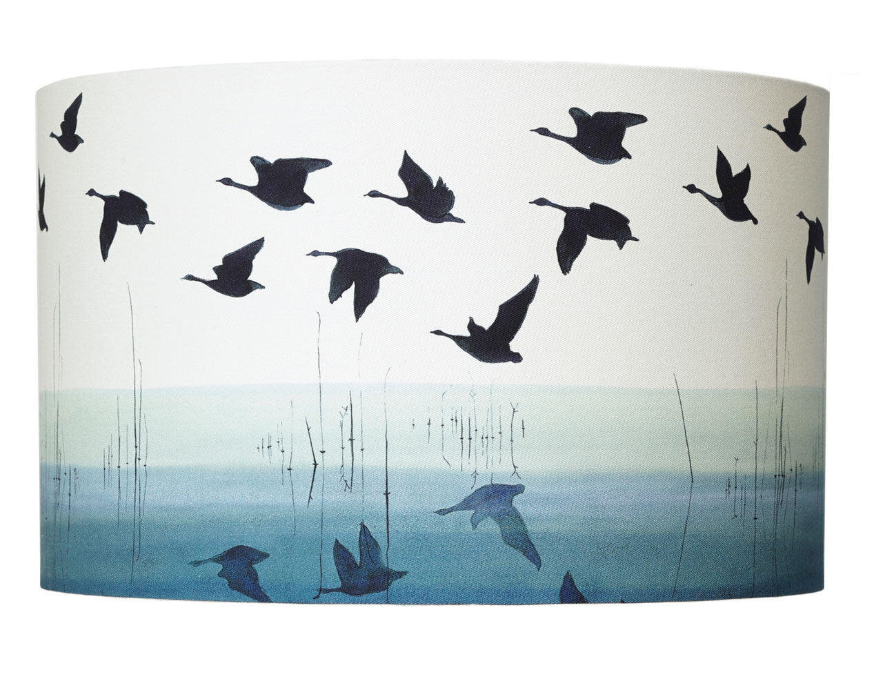 Welsh reflectioncotton lampshade anna jacobs large 40cm x 25cm mozeypictures Choice Image