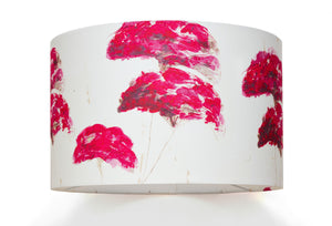 Autumn Sedum<br />cotton lampshade