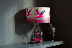 Breaking dawn<br />silk lampshade